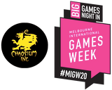 Chaosium is part of the 'Big Games Night In' at Melbourne International Games Week, Sun Oct 4