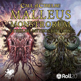 New to Roll20: the Malleus Monstrorum, a cavalcade of monsters and god-like alien intelligences beyond human understanding