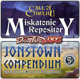 Community Ambassadors appointed for Chaosium's Miskatonic Repository and Jonstown Compendium on DriveThruRPG