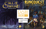Play Call of Cthulhu and RuneQuest at PAX Aus Online Oct 8-10: sessions are open!