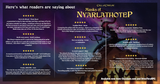 Here's what Call of Cthulhu fans are saying about MASKS OF NYARLATHOTEP