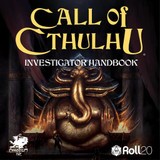Now on Roll20 : the Call of Cthulhu Investigator Handbook