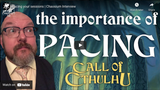 Chaosium Interviews: Pacing your sessions, with Mike Mason
