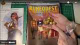 RuneQuest Starter Set Design Diary #14: unboxing while we wait...