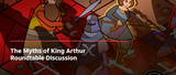 Pendragon line editor David Larkins part of 'Myths of King Arthur' Roundtable Discussion at Steam Tabletop Fest, Oct 23rd