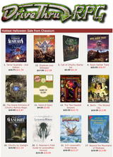 634 Chaosium titles are 30% off in DriveThruRPG's Halloween Sale