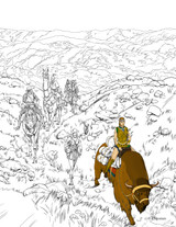 A technicolor fantasy cure for boredom: take part in our RuneQuest Coloring Competition!