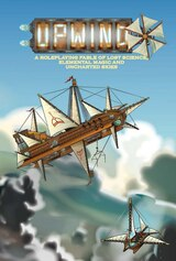 Chaosium is distributing Upwind, the RPG of lost science, elemental magic, and unchartered skies