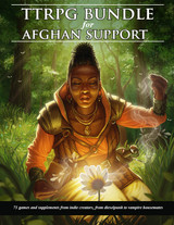 TRPG Charity Bundle on Itch.io for Afghan Support includes our Glorantha game Last Faction Hero
