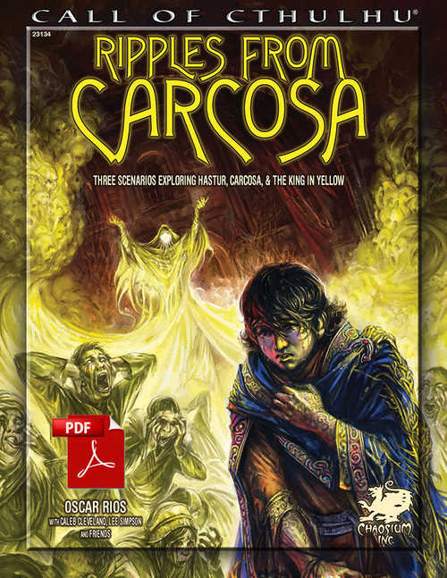 Ripples from Carcosa  - Front Cover
