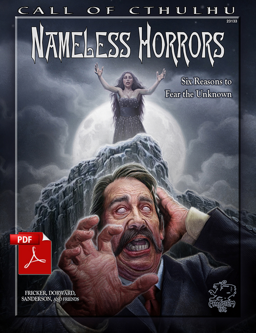 Nameless Horrors - Front Cover
