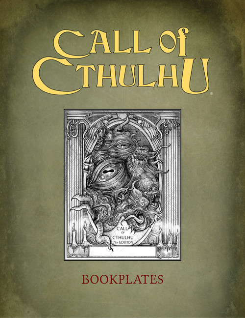 Call of Cthulhu Book Plates - PDF