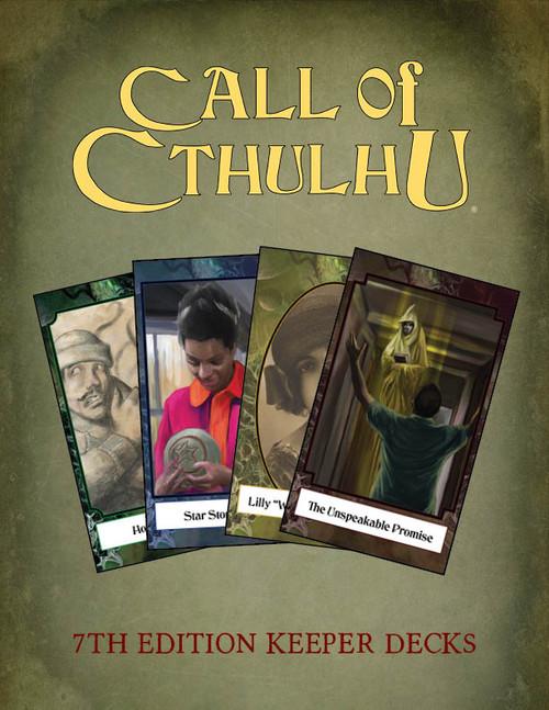 Call of Cthulhu Keeper Decks - PDF