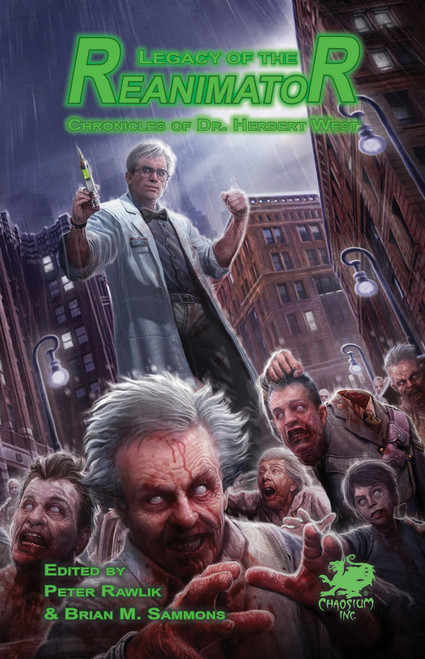 Legacy of the Reanimator eBook
