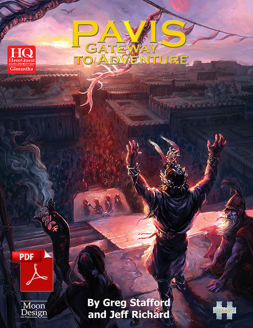 Pavis: Gateway to Adventure - Front Cover