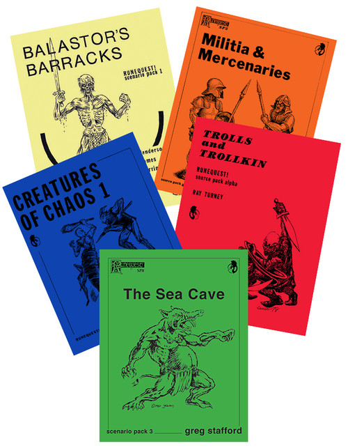 CHA4024 - Old School Resource Pack covers