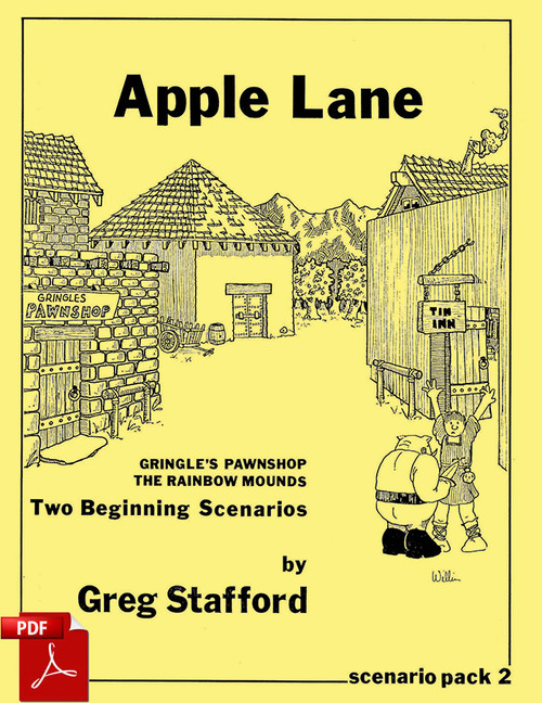 Apple Lane - Front Cover