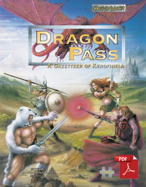 Dragon Pass, a Gazetteer of Kerofinela cover