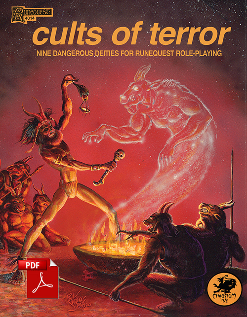 Cults of Terror - Front Cover
