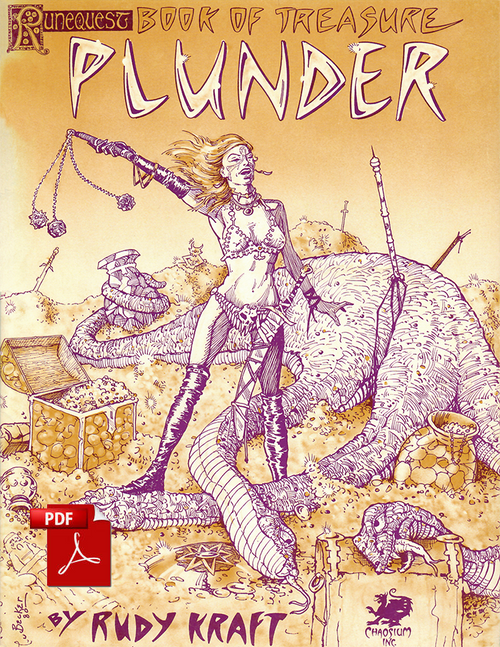 Plunder - Front Cover