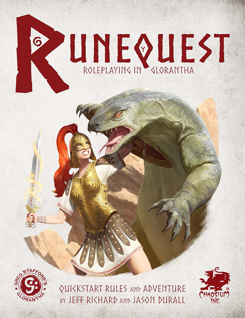 RuneQuest Quickstart - Front Cover