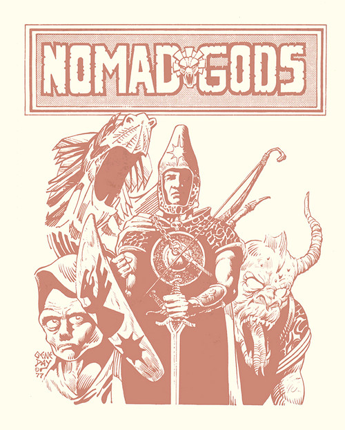 Nomad Gods Cover