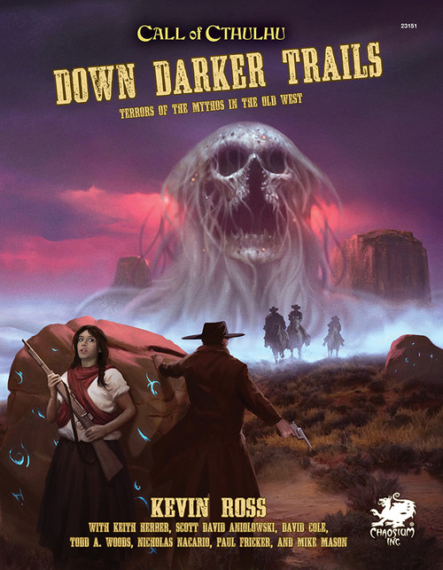 Down Darker Trails - Front Cover