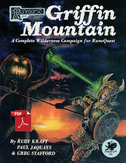 Griffin Mountain - Front Cover