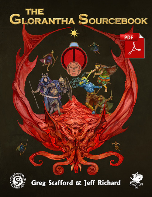 CHA4033 - Glorantha Sourcebook - Front Cover - PDF