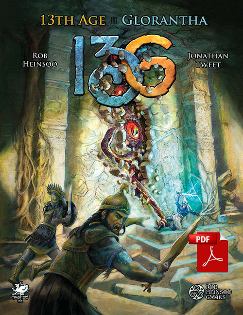 13th Age Glorantha - Front Cover - PDF