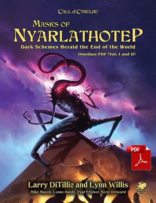 Masks of Nyarlathotep - Front Cover