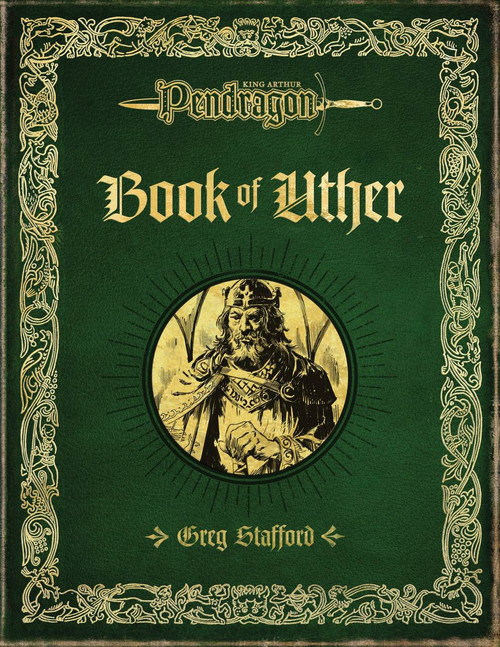 Book of Uther - Front Cover