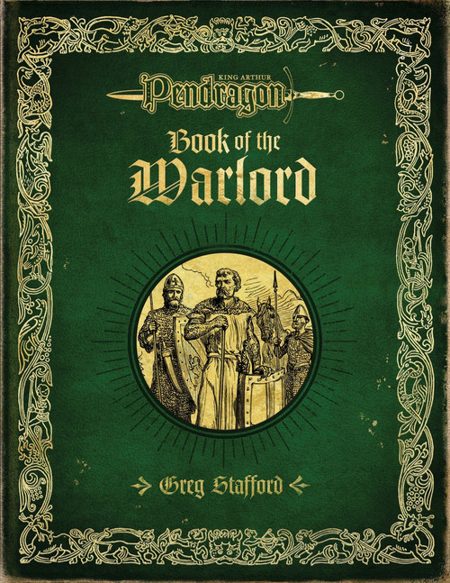 Book of the Warlord - Front Cover