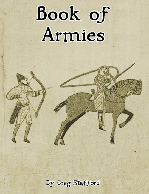 Book of Armies - Front Cover