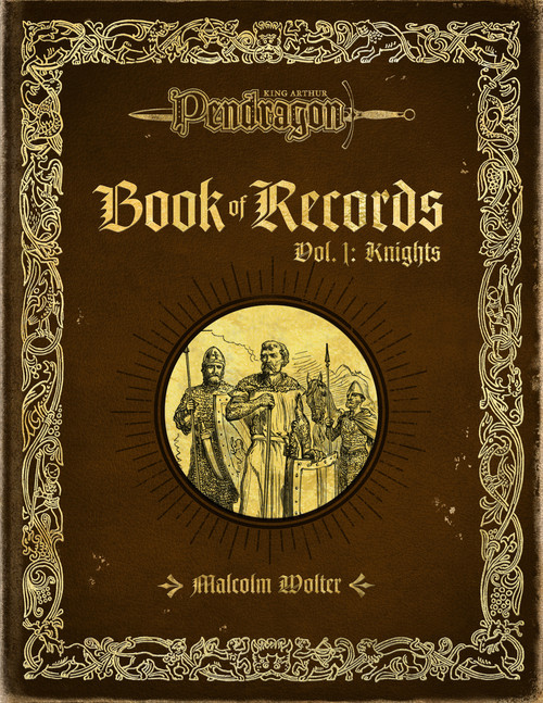 Book of Records Vol 1 - Knights - Front Cover