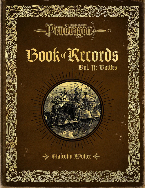 Book of Records Vol II Battles - Front Cover