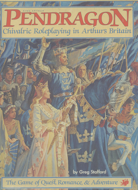 King Arthur Pendragon - 1st Edition - Box Front Cover
