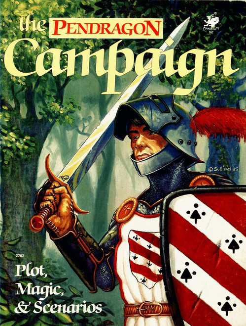 The Pendragon Campaign - Front Cover
