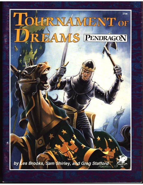 Tournament of Dreams - Front Cover