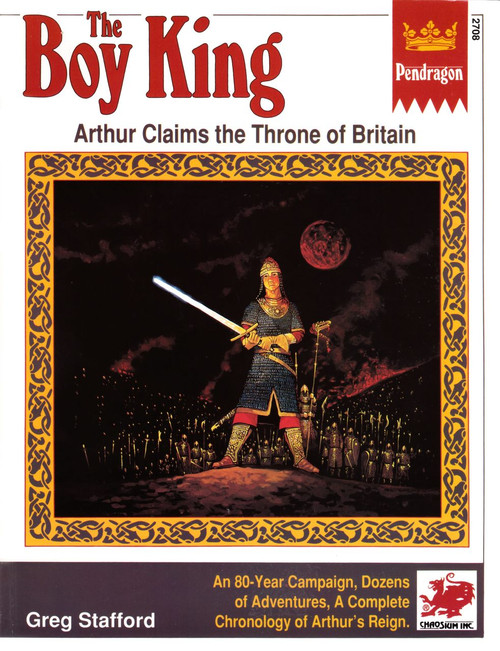 The Boy King - 1st Edition - Front Cover