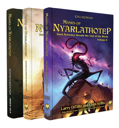 Masks of Nyarlathotep - Slipcase