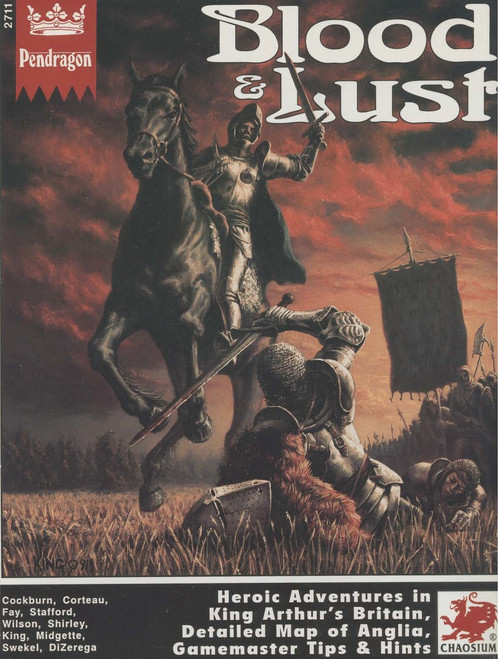 Blood & Lust - Front Cover