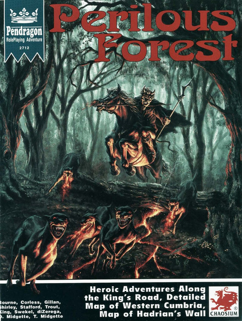 Perilous Forest - Front Cover