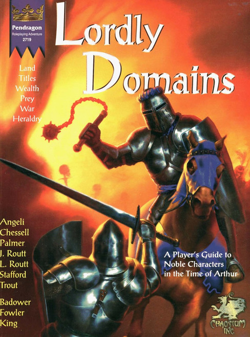 Lordly Domains - Front Cover