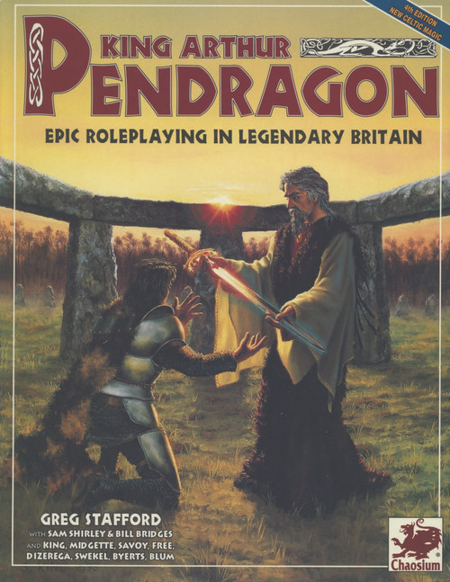 King Arthur Pendragon - 4th Edition - Front Cover