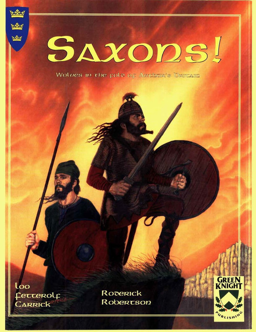 Saxons! - Front Cover