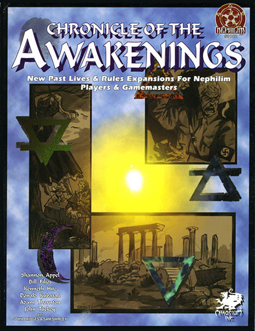 Chronicle of the Awakenings - Front Cover