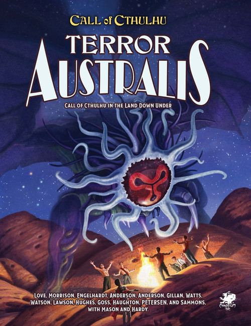 Terror Australis - Front Cover