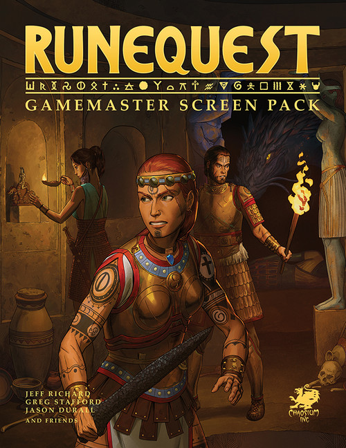RuneQuest - Gamemaster Screen Pack - Front Cover