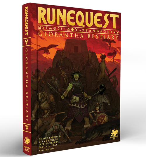 Runequest Roleplaying In Glorantha Hardcover Chaosium Inc